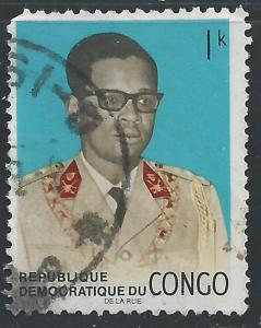 Congo, Democratic Republic #647 1k Pres Mobutu