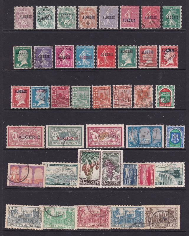 Algeria French a small M&U lot