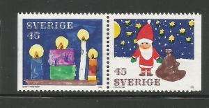 SWEDEN, 951-952, MNH, CELEBRATION TYPE