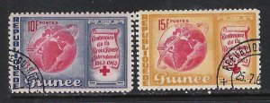 GUINEA 310-11 VFU MAP Z83