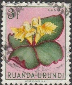 Ruanda-Urundi, #126 Used From 1953
