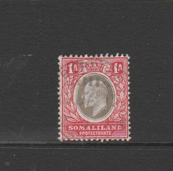 Somaliland 1909 MCCA 1A Used SG 59
