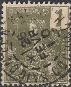 Indo-China, #24  Used From 1904-06