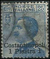 Italy Offices in Turkish Empire - 31 - Used - SCV-2.75