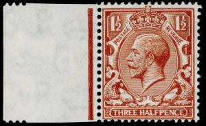 SG420 SPEC N35(10), 1½d bright yellow-brown, UNMOUNTED MINT. Cat £15.