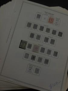 NEW ZEALAND : Beautiful all Mint collection on album pages. SG Catalog £2,936.00