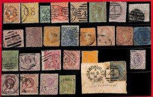94750 -  AUSTRALIA : Victoria  - STAMP  -  Nice LOT of  used stamp