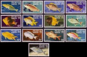 Pitcairn Fishes 13v SG#246-258