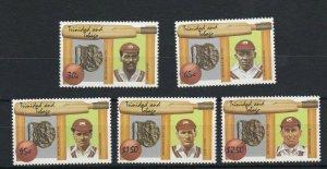 BC166) Trinidad and Tobago 1988 Cricket Diamond Jubilee MUH
