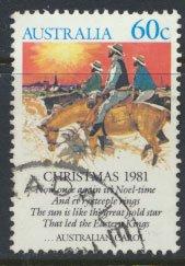Australia  SC# 813 Christmas 1981   SG 830  Used   as per scan