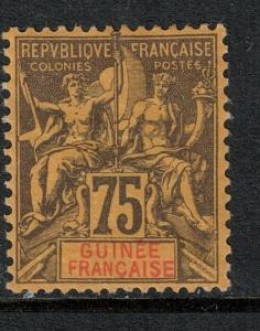 French Guinea 1892-1900 SC 16 Mint SCV $65.00