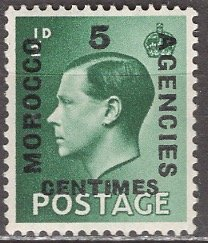 Great Britain Morocco; 1936: Sc. # 437: */MH Single Stamp