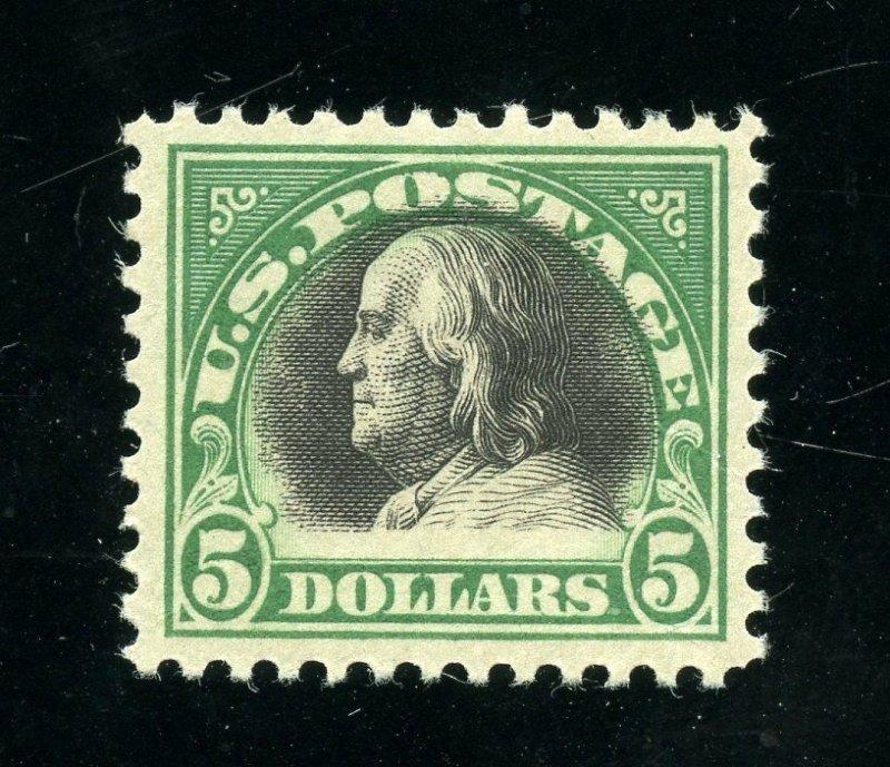 UNITED STATES SCOTT#524 VF MINT NEVER HINGED GUM CREASE--SCOTT VALUE $340.00