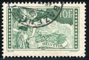 SWITZERLAND ~ #185 Very Fine Used. Cat. 57.50