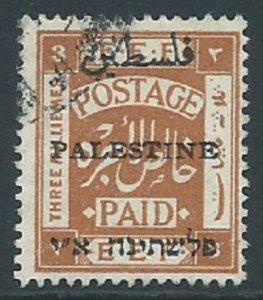 Palestine, Sc #17c, 3m Used