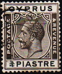 Cyprus. 1924  3/4pi S.G.119 Fine Used