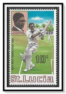 St Lucia #229 Cricket Club MNH