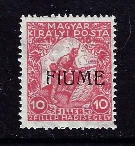 Fiume B1 MNH 1918 overprint