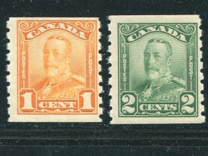 Canada #160-61   Mint  F-VF NH   - Lakeshore Philatelics