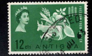 ANTIGUA Scott 133 Used Freedom from Hunger stamp