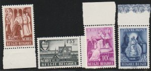 BELGIUM B447-50 MINT NEVER HINGED COMPLETE