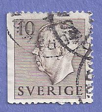 Sweden Scott #460 Gustaf VI Adolf, CV $.20, used
