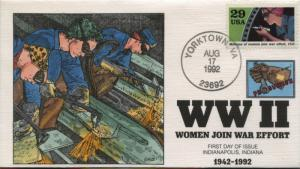 #2697H FDC HAND PAINTED BY COLLINS CACHET BU1024