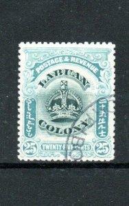 North Borneo - Labuan 1902-03 25c FU CDS