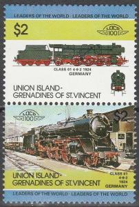Union Island #52   MNH (K373)