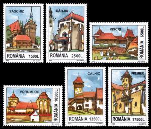 Romania 2002 Scott #4511-4516 Mint Never Hinged