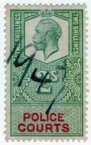 (I.B) George V Revenue : Police Courts 2/-