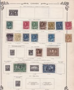 canada early  stamps ref 10933