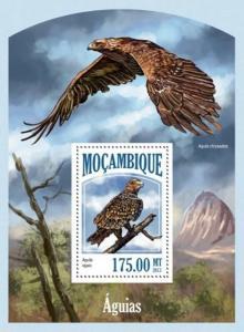 Mozambique - 2013 Eagles Bird of Prey Stamp Souvenir Sheet 13A-1379
