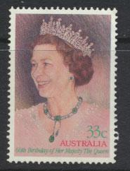 SG 1009 SC# 983   Fine Used  - 60th Birthday QE II