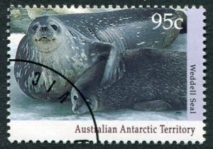 ANTARCTIC WILDLIFE SERIES I 1992 - 95c WEDDELL SEAL CTO/FULL GUM