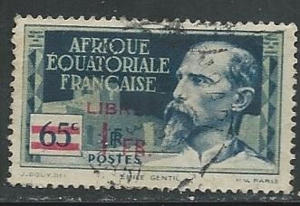 French Equatorial Africa  + Scott # 127 - Used