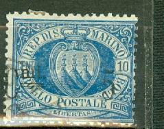 San Marino 7 used CV $115