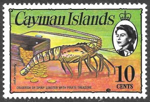 Cayman Islands # 338 Mint Never Hinged