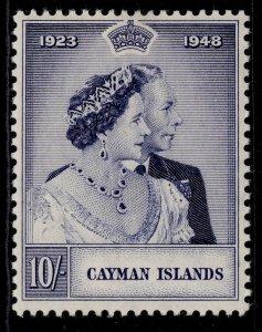 CAYMAN ISLANDS GVI SG130, 10s violet-blue, M MINT. Cat £24.