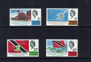 Trinidad & Tobago: 1968, Royal Visit, Mint set
