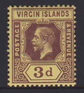 Virgin Islands Sc#42 MH