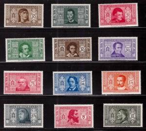 Italy Scott 268-279 MH* 1932 Dante Alighieri set  CV $140