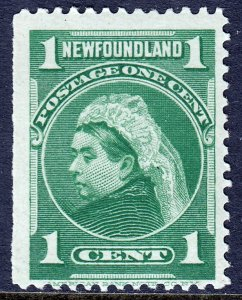 Newfoundland - Scott #80 - MNH - Straight edge - SCV $4.50