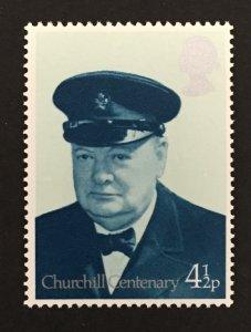 Great Britain 1974 #728, Winston Churchill, MNH.