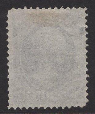 US Stamp #154 30c Black Hamilton USED SCV $275.00 Light Cancel.