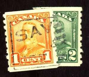 CANADA #160-1 USED F-VF Cat $26