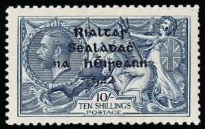 Ireland Scott 38 Gibbons 46 Mint Stamp