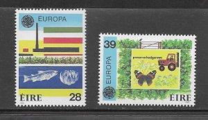 Ireland 658-9 Europa MNH cpl. set vf, 2020 CV $32.50