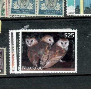TONGA NIUAFOO (PP2612B) BIRDS SET SC CE1-4  MNH