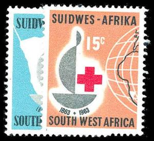 SOUTH WEST AFRICA 295-96  Mint (ID # 78311)